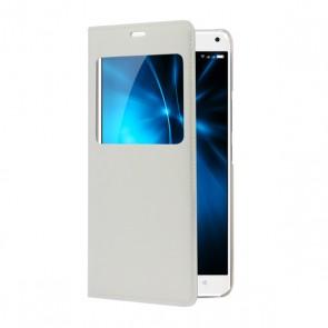 White Flip cover P8 Energy Pro