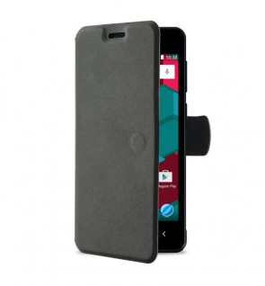 Flip cover black A6 Duo