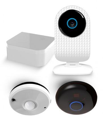 Pakiet Komfortowy - SmartCam + Czujnik wielofunkcyjny + Nadajnik podczerwieni + Przełącznik