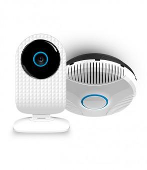 Pakiet bezpieczeństwa – kamera SmartCam + czujnik gazu