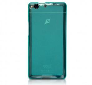 Etui silikonowe, X1 Soul kolor niebieski