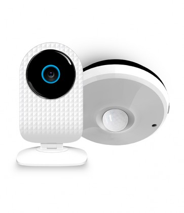Pachet Security Start - SmartCam + Senzor Multifunctional