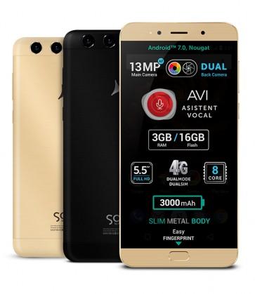 X4 Soul Lite 3GB Gold - Produs resigilat