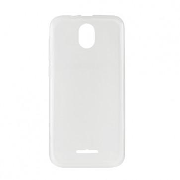 Capac protectie spate silicon semitransparent alb A10 lite