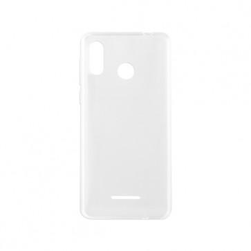 Capac protectie spate silicon semitransparent alb A20 Lite