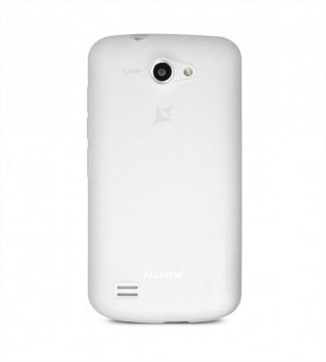 A5 Quad capac semitransparent alb