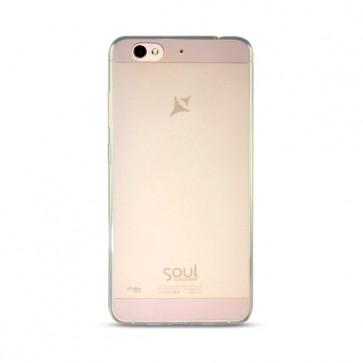 Capac protectie silicon alb X3 Soul