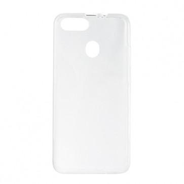 Capac protectie spate silicon semitransparent alb P10 PRO
