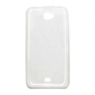 Capac protectie silicon alb semitransparent P41 eMagic