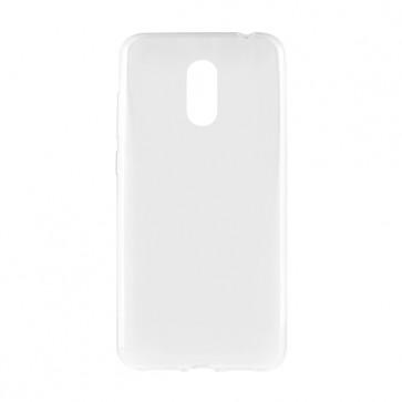 Capac protectie spate silicon transparent white P8 Pro