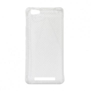 Capac protectie silicon alb semitransparent P9 Energy Lite