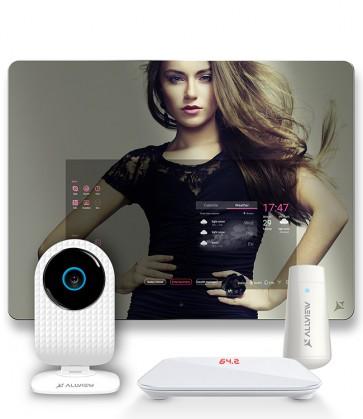 Pachet Smart Mirror 1 + Smart Cam + Cantar + Tester piele