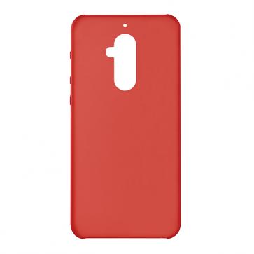 Capac protectie plastic rosu semitransparent X4 Soul Infinity