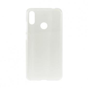 Capac protectie spate silicon semitransparent alb Soul X5