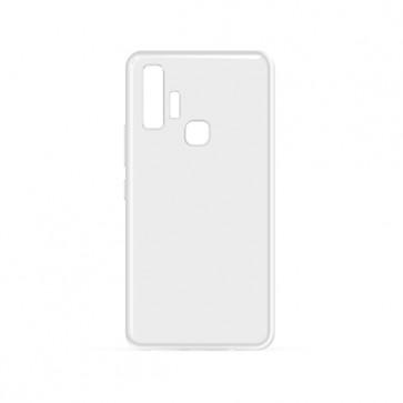 Capac protectie spate silicon semitransparent alb Soul X7 Pro