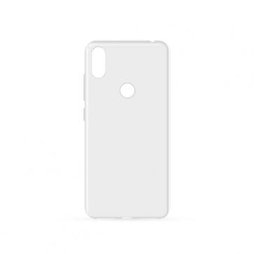Capac protectie spate silicon semitransparent alb V4 Viper