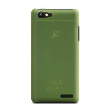 Capac de protectie semitransparent verde X1 Soul Mini