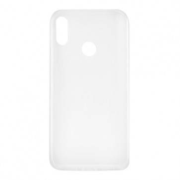 Capac protectie spate silicon semitransparent alb Soul X5 Pro