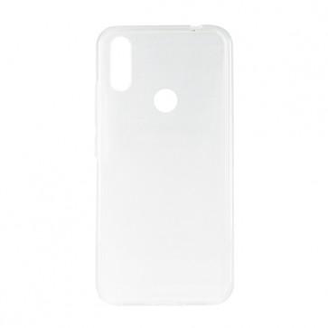 Capac protectie spate silicon semitransparent alb Soul X6 Mini