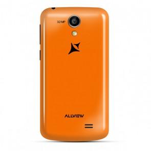 Capac spate baterie, portocaliu A5 Smiley