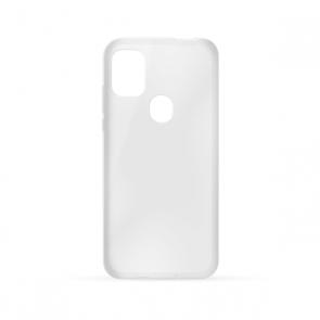 Capac protectie spate silicon semitransparent alb A20 Max