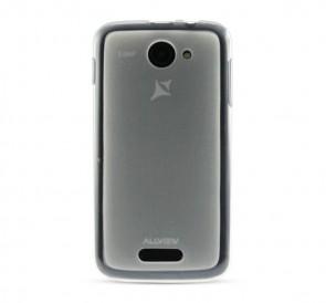 A6 Quad capac protectie silicon alb