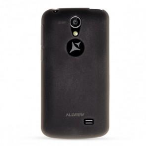 A5 Smiley capac silicon negru