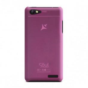 Capac de protectie semitransparent roz X1 Soul Mini