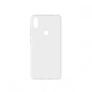Capac protectie spate silicon semitransparent alb V4 Viper Pro